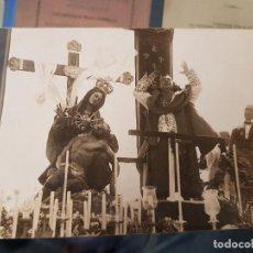 Fotografía antigua: ANTIGUA FOTOGRAFIA RELIGIOSA VIRGEN DE LOS DOLORES CASAU CARTAGENA MURCIA. Lote 156195310