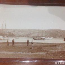 Fotografía antigua: FOTO POSTAL VELEROS - ENTRE LOS AÑOS: 1910_1920'S. Lote 156657170