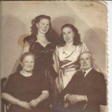 Fotografía antigua: FOTO DE FAMILIA. AÑO 1948. Lote 156956514