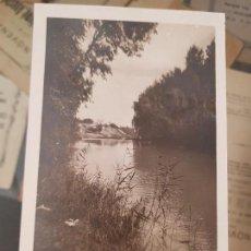Fotografía antigua: ANTIGUA FOTOGRAFIA TARJETA POSTAL RIO SEGURA MURCIA. Lote 157201658
