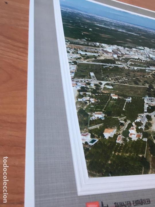 Fotografía antigua: PAISAJES ESPAÑOLES N 544700 PICASSENT FOTOGRAFIA AEREA GRANDE 39X30,5 cm en marco cartón 47x40 cm - Foto 4 - 157753902