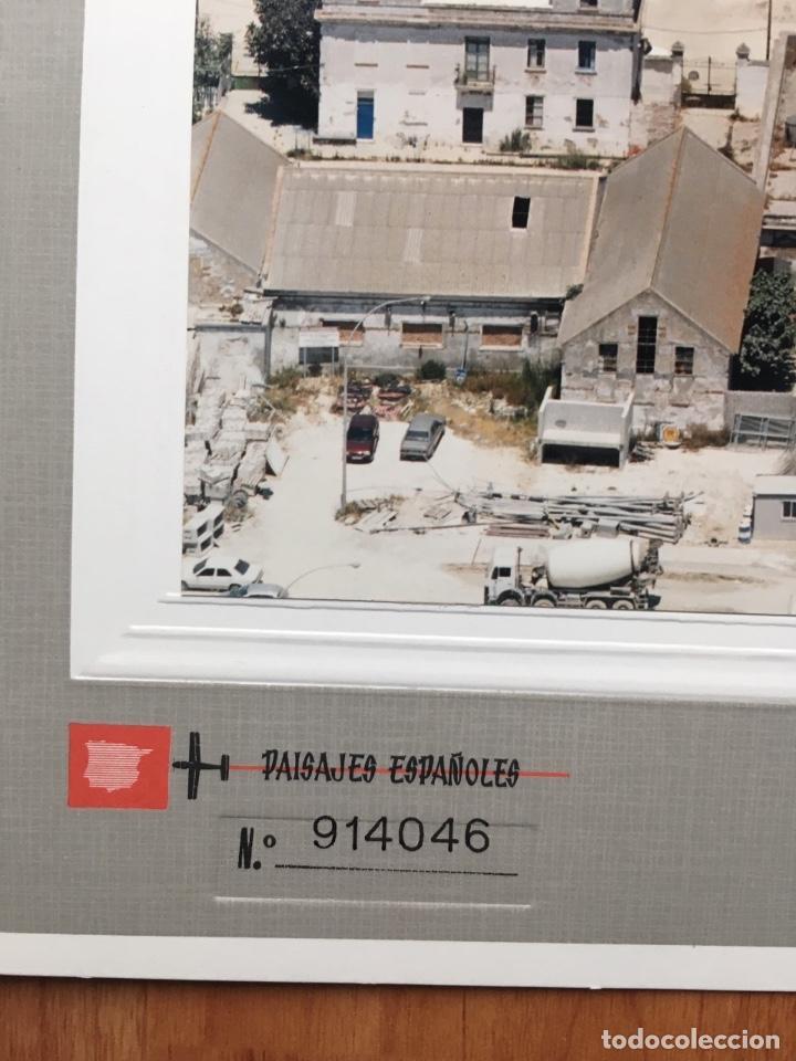 Fotografía antigua: PAISAJES ESPAÑOLES N 914046 CADIZ CARRANZA FOTO AEREA 39X30,5 cm en marco cartón 47x40 cm - Foto 2 - 157950582