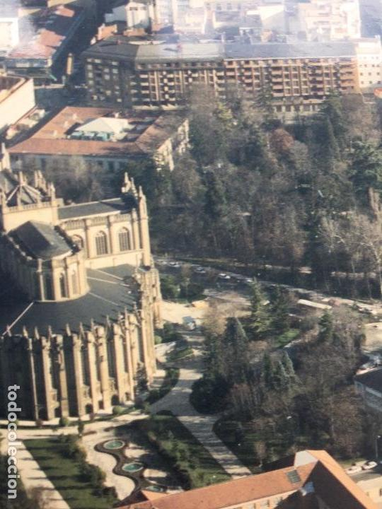Fotografía antigua: PAISAJES ESPAÑOLES N 845924 GASTEIZ VITORIA FOTO AEREA GRANDE 39X30,5 cm en marco cartón 47x40 cm - Foto 4 - 158126446