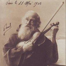 Fotografía antigua: LOISIRS DE MOINES. ATTENDANT L'INSPIRATION. 1903. Lote 158147330