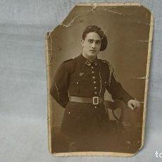 Fotografía antigua: ANTIGUA FOTOGRAFÍA TARJETA POSTAL RETRATÓ MILITAR. Lote 158350642