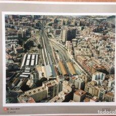 Fotografía antigua: PAISAJES ESPAÑOLES N 816486 ALICANTE FOTO AEREA 39X30,5 CM EN MARCO CARTÓN 47X40 CM. Lote 158652966