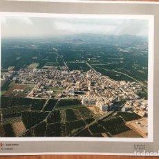 Fotografía antigua: PAISAJES ESPAÑOLES RAFELBUÑOL VALENCIA AÑOS 90,NUMERADA 638050 . 39X30,5 MARCO 47X40. Lote 159177734