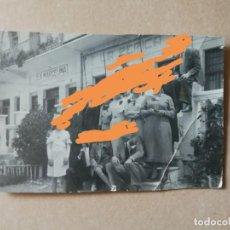 Fotografía antigua: ANTIGUA FOTOGRAFÍA POSTAL. BAR RESTAURANTE LA PEPICA .VALENCIA. LA PLAYA.. Lote 159473626