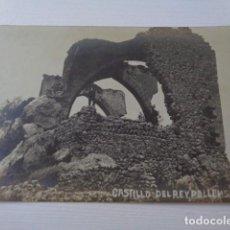 Fotografía antigua: POLLENSA. MALLORCA. CASTILLO DEL REY. LA BALEAR. TALLER FOTO INDUSTRIAL. TRUYOL E HIJO. PALMA MALLOR. Lote 159598214