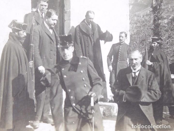 Fotografía antigua: P-9297.VISITA DEL REY ALFONSO XIII A LAS MINAS DE CARBON DE FIGOLS CON CONDE DE FIGOLS. 1908. - Foto 2 - 159973746
