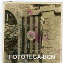 Fotografía antigua: FOTO ORIGINAL PENDON SENYERA SOCIEDAD AGRUPACION FUNDADA EN 1921 CATALUNYA - TOMADA EN 1922. Lote 160363006