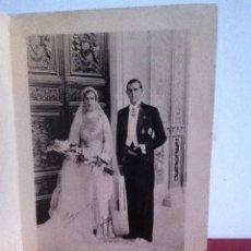 Fotografía antigua: FOTOGRAFÍA- BODA JUAN DE BORBÓN. 1935. Lote 160619925