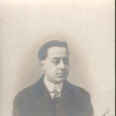 Fotografía antigua: POSTAL CON RETRATO FOTOGRÁFICO (DEDICADA A MARUJITA IBORRA Y MILLA POR 'CHANCHITO'). R. GUILLEMINOT. Lote 160728522