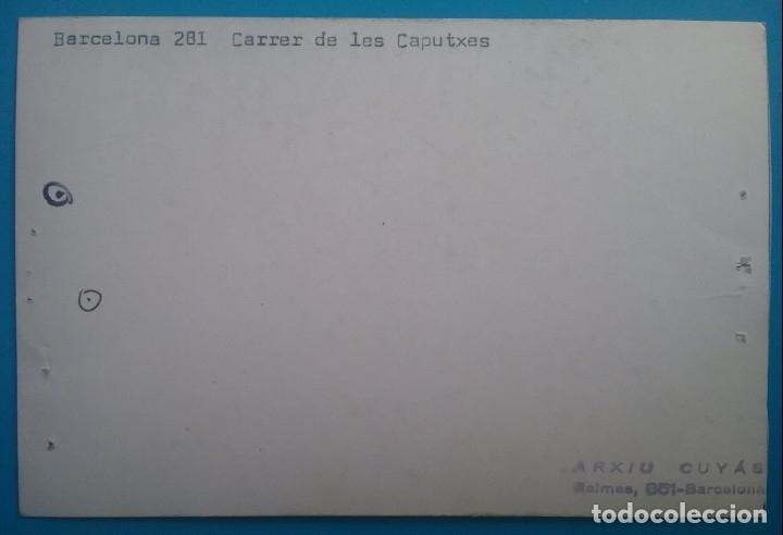 Fotografía antigua: FOTOGRAFÍA BARCELONA BAIXADA DE SANTA EULÀLIA ARXIU CUYÁS - Foto 2 - 161196090