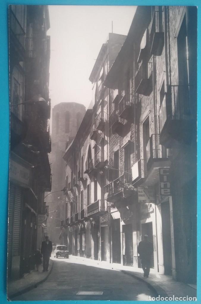 FOTOGRAFÍA BARCELONA CARRER DEL PI ARXIU CUYÁS (Fotografía Antigua - Tarjeta Postal)