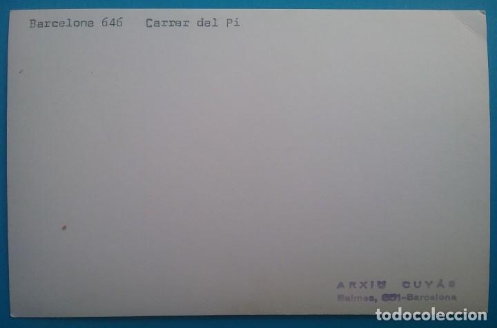 Fotografía antigua: FOTOGRAFÍA BARCELONA CARRER DEL PI ARXIU CUYÁS - Foto 2 - 161196290