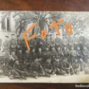 Fotografía antigua: ANTIGUA FOTOGRAFÍA. REGIMIENTO VIZCAYA 51. SOLDADOS MILITARES. MILITAR.. Lote 161336846