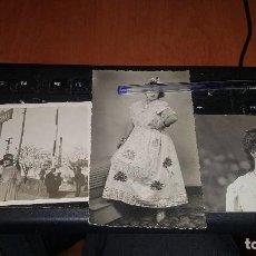Fotografía antigua: 3 FOTOGRAFIAS TOMADAS EN VALDEPEÑAS, ROMAN PRIETO. Lote 161347518