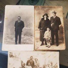 Fotografía antigua: ANTIGUAS FOTOGRAFIAS DARBLADE TORREVIEJA ALICANTE. Lote 161374486
