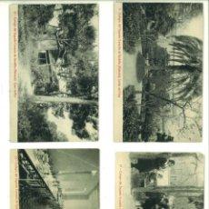 Fotografía antigua: COLEGIO DEL SAGRADO CORAZÓN DE GODELLA (VALENCIA). 4 POSTALES. Lote 162949818