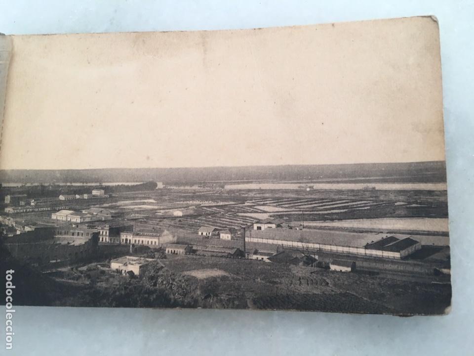 Fotografía antigua: Antiguo álbum de 10 postales Huelva Librería justo toscano 1 serie Inédito - Foto 2 - 163561968