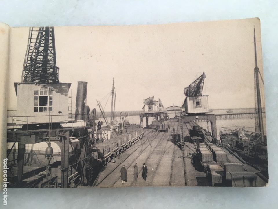Fotografía antigua: Antiguo álbum de 10 postales Huelva Librería justo toscano 1 serie Inédito - Foto 3 - 163561968