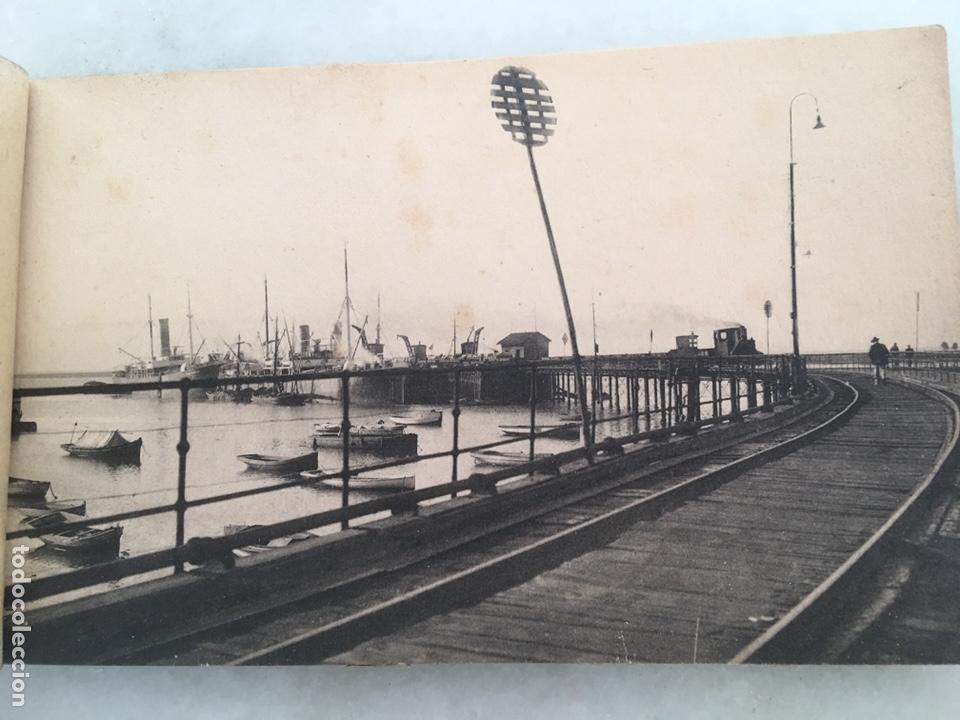 Fotografía antigua: Antiguo álbum de 10 postales Huelva Librería justo toscano 1 serie Inédito - Foto 4 - 163561968