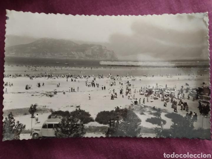 TARJETA POSTAL LAREDO FOTOGRAFÍA REAL POR AUFER (Fotografía Antigua - Tarjeta Postal)