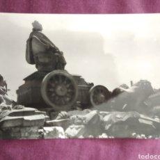 Fotografía antigua: TARJETA POSTAL MADRID CIBELES N.163. Lote 163570617