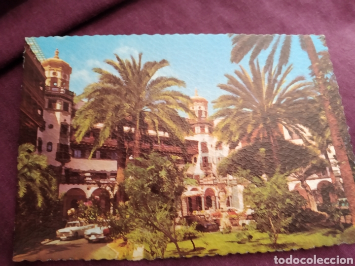 TARJETA POSTAL LAS PALMAS DE GRAN CANARIA HOTEL SANTA CATALINA N.132 (Fotografía Antigua - Tarjeta Postal)