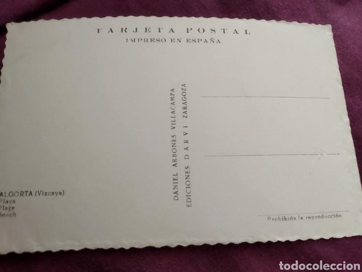 Fotografía antigua: Tarjeta postal Algorta vizcaya - Foto 2 - 163571180