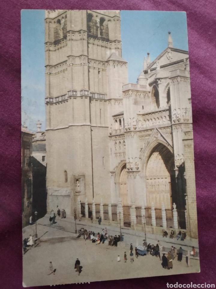 TARJETA POSTAL TOLEDO LA CATEDRAL (Fotografía Antigua - Tarjeta Postal)