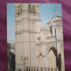 Fotografía antigua: TARJETA POSTAL TOLEDO LA CATEDRAL. Lote 163571738