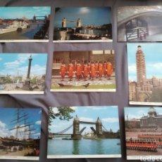 Fotografía antigua: LOTE DE 9 TARJETAS POSTALES BUSCAR DE LONDON. Lote 163572500