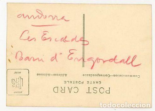 Fotografía antigua: ANDORRA LES ESCALDES BARRIO DE ENGORDANY AÑOS 20/30 - Foto 2 - 164662762