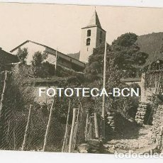 Fotografía antigua: ANDORRA LA MASSANA VISTA DE LA POBLACION AÑOS 20/30. Lote 164664414