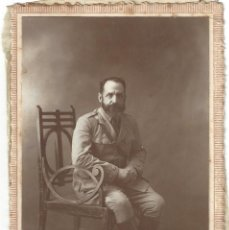 Fotografía antigua: FOTOGRAFÍA TARJETA POSTAL SEÑOR. FOTO ART CALATAYUD. CEUTA- 1924. Lote 165218462