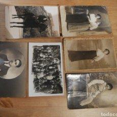 Fotografía antigua: LOTE DE 6 FOTOGRAFÍAS ANTIGUAS. Lote 165897406