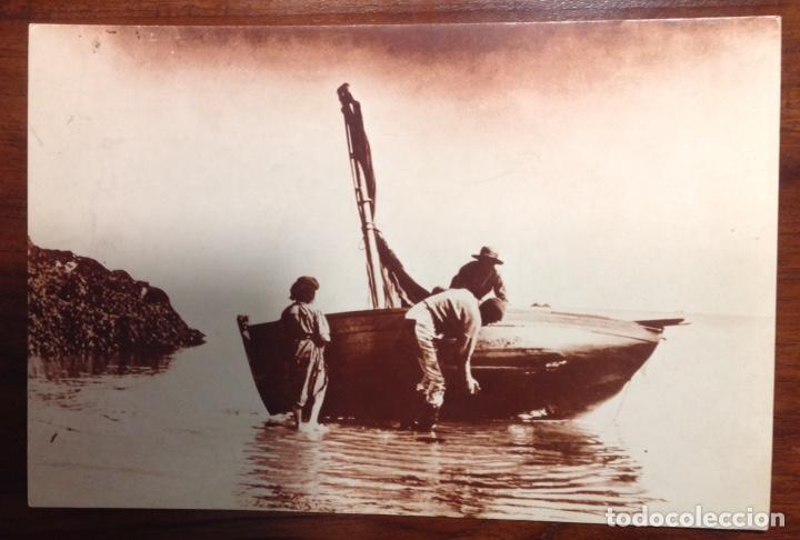 2 REPRODUCCIONES DE FOTOS ANTIGUAS, MOTIVOS MARINEROS, P. MARTIN Y A.W. ATKINSON (Fotografía Antigua - Tarjeta Postal)