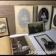 Fotografía antigua: LOTE DE ANTIGUAS FOTOGRAFIAS.. Lote 166635722