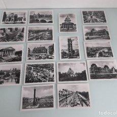 Fotografía antigua: JUEGO DE 17 FOTOGRAFÍAS - PARÍS... EN FLANANT - FRANCIA - REPRODUCCIÓN JUAN. Lote 167320308