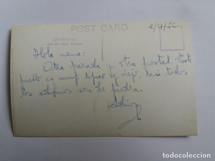 Fotografía antigua: TARJETA POSTAL - 1956 FRANK PACKER - CHIPPING NORTON - BROADWAY - Foto 2 - 167953092