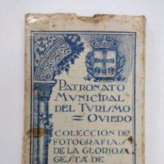 Fotografia antica: COLECCION DE FOTOGRAFIAS DE LA GLORIOSA GESTA DE OVIEDO/30 POSTALES DE LA GUERRA CIVIL-OVIEDO.. Lote 168211900