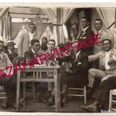 Fotografía antigua: SEVILLA, AÑOS 20, RARISIMA POSTAL, FIESTA DE LA FLOR. Lote 168724228