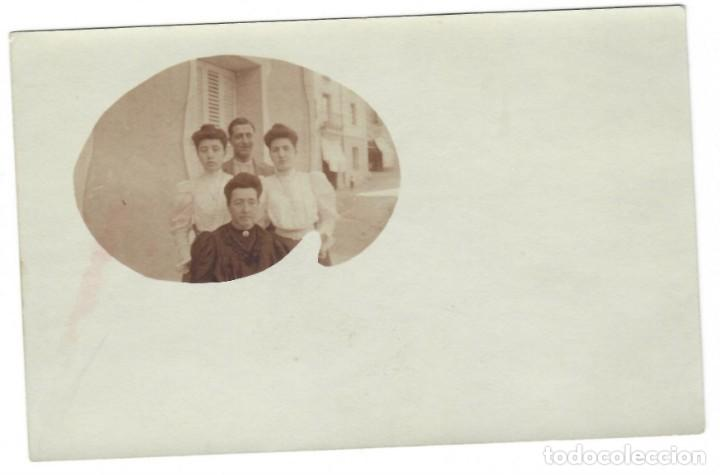 COLECCIONISMO FOTOGRÁFICO: MADRE CON HIJOS (TARJETA POSTAL) (Fotografía Antigua - Tarjeta Postal)