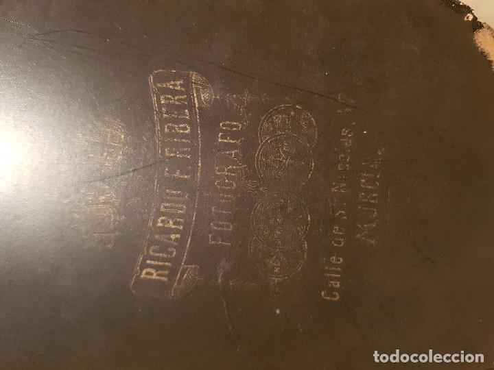 Fotografía antigua: ANTIGUA FOTOGRAFIA RELIGIOSA CURA SACERDOTE RIBERA MURCIA - Foto 2 - 170454096