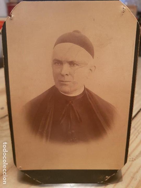 ANTIGUA FOTOGRAFIA RELIGIOSA CURA SACERDOTE RIBERA MURCIA (Fotografía Antigua - Tarjeta Postal)