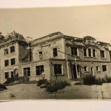 Fotografía antigua: INTERESANTE FOTOGRAFIA ORIGINAL DE BALAGUER (LLEIDA) - CONSTRUCCION INSTITUTO BACHILLER - VER FOTOS. Lote 170670715