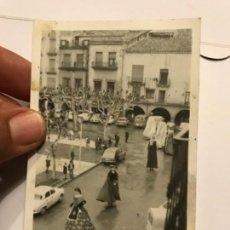 Fotografía antigua: INTERESANTE FOTOGRAFIA ORIGINAL DE BALAGUER (LLEIDA) - BALLADA GEGANTS GIGANTES - VER FOTOS. Lote 170672645