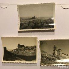 Fotografía antigua: INTERESANTES 3 FOTOGRAFIAS ORIGINAL DE BALAGUER (LLEIDA) - SANT CRIST CRISTO SANTA MARIA - VER FOTOS. Lote 170677045